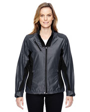 North End 78807 Women Interactive Aero Two-Tone Lightweight Jacket