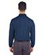 Ultraclub 8210LS Men Cool & Dry Long-Sleeve Mesh Pique Polo
