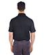 Ultraclub 8215 Men Cool & Dry 2-Tone Mesh Pique Polo