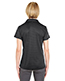 Ultraclub 8220L Women Cool & Dry Jacquard Stripe Polo