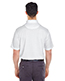 Ultraclub 8305 Men Cool & Dry Elite Mini Check Jacquard Polo