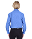Ultraclub 8361 Women Long Sleeve Performance Pinpoint