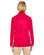 Ultraclub 8424L Women Cool & Dry Sport Performance Interlock 1/4-Zip Pullover