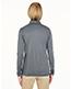 Ultraclub 8424L Women Cool & Dry Sport Performance Interlock 1/4-Zip Pullover
