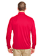 Ultraclub 8424 Adult Men Cool & Dry Sport Performance Interlock 1/4-Zip Pullover