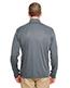 Ultraclub 8424 Adult Men Cool & Dry Sport Performance Interlock 1/4-Zip Pullover