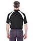 Ultraclub 8427 Men Cool & Dry Sport Performance Color Block Interlock Polo