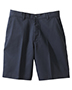 Edwards 8459 Women Moisture Wicking Zipper Back Pocket Flat Front Short