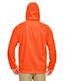 Ultraclub 8463 Men Rugged Wear Thermal-Lined Full-Zip Hooded Fleece