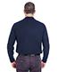 Ultraclub 8542 Men Long-Sleeve Whisper Pique Polo
