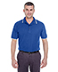 Ultraclub 8545 Men Short-Sleeve Whisper Pique Polo With Tipped Collar And Cuffs