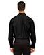 North End 87037 Men Luster Wrinkle-Resistant Cotton Blend Poplin Taped Shirt