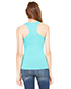 Bella + Canvas 8770 Women Sheer Mini Rib Racerback Tank