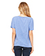 Bella + Canvas 8815 Women Slouchy V-Neck T-Shirt