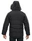 North End 88179 Men Boreal Down Jacket With Faux Fur Trim