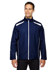 North End 88188 Men Tempo Lightweight Recycled Polyester Jacket With Embossed Print