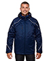 North End 88196T Men Tall Angle 3-In-1 Jacket With Bonded Fleece Liner