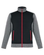North End 88202 Men Victory Hybrid Performance Fleece Jacket