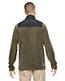 North End 88215 Men Excursion Trail Fabric-Block Fleece Jacket