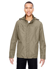 North End 88216 Men Excursion Transcon Lightweight Jacket With Pattern