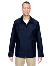 North End 88218 Men Excursion Ambassador Lightweight Jacket With Fold Down Collar