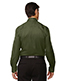 North End 88635 Men Legacy Wrinkle-Free Two-Ply 80s Cotton Jacquard Taped Shirt