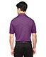 North End 88659 Men Maze Performance Stretch Embossed Print Polo