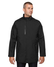 North End 88670 Men Metropolitan Lightweight City Length Jacket