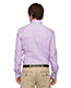 North End 88689 Men Refine Wrinkle-Free Two-Ply 80s Cotton Royal Oxford Dobby Taped Shirt