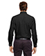 North End 88690 Men Precise Wrinkle-Free Two-Ply 80s Cotton Dobby Taped Shirt