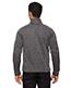 North End 88697 Men Flux Melange Bonded Fleece Jacket