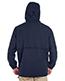 Ultraclub 8908 Men Microfiber Full-Zip Hooded Jacket