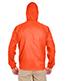 Ultraclub 8925 Men 1/4-Zip Hooded Pullover Pack Away Jacket