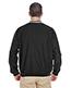 Ultraclub 8926 Men Long-Sleeve Microfiber Crossover V-Neck Wind Shirt