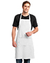 Port Authority A700 Men Easy Care Extra Long Bib Apron With Stain Release