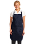 Port Authority A703 Women Easy Care Fulllength Apron With Stain-Release