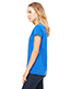 Bella + Canvas B6005 Women Jersey Short-Sleeve V-Neck T-Shirt
