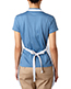 Bayside 4350 Unisex Deluxe Fulllength Apron