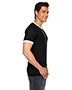 Custom Embroidered American Apparel BB410W Men 3.6 oz Poly-Cotton Short-Sleeve Ringer T-Shirt