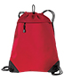 Port Authority BG810  Unisex Improved  Cinch Pack with Mesh Trim