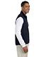 Chestnut Hill CH960 Men Polartec Colorblock Full-Zip Vest