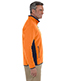 Chestnut Hill CH970 Men Polartec Colorblock Quarter-Zip Pullover