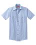 Red Kap  CS20LONG Men Long Size Short-Sleeve Striped Industrial Work Shirt