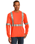 Cornerstone CS401LS Men Ansi 107 Class 2 Long-Sleeve Safety T-Shirt