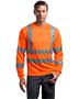 Cornerstone CS409 Men Ansi 107 Class 3 Long-Sleeve Snag-Resistant Reflective T-Shirt
