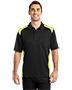 Cornerstone CS416 Men Select Snag-Proof Two Way Colorblock Pocket Polo