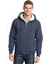 Cornerstone CS625 Men Heavyweight Sherpa-Lined Hooded Fleece Jacket