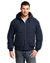 Cornerstone  CSJ41 Men Washed Duck Cloth Insulated Hooded Work Jacket