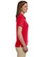 Devon & Jones Blue DG385W Women Dri Fast Advantage Solid Mesh Polo