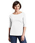 District Made DM107L Women Perfect Weight 3/4-Sleeve Tee